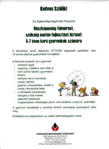 Ovis program plakátja
